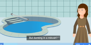 Where is God in the Mikvah?